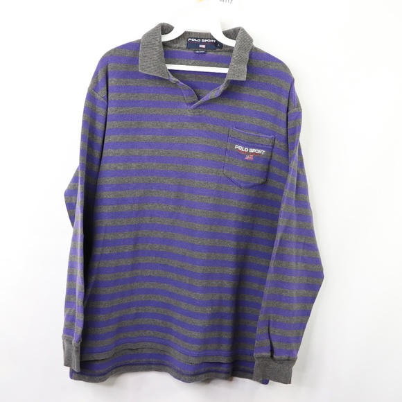 fe4ddd99 Polo by Ralph Lauren Shirts   Vintage 90s Polo Sport Mens Large ...